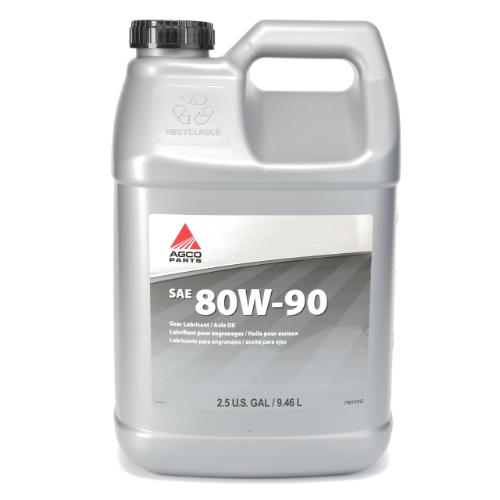 SAE 80W-90 Gear Lubricant, 2.5 Gallon