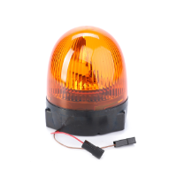 Rotating Beacon, Bulb 12V 55W included