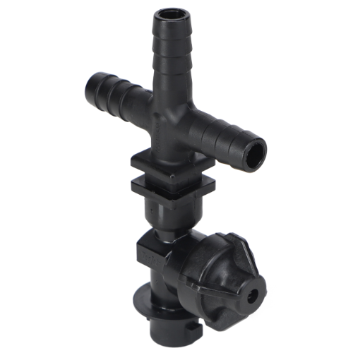 Single Nozzle Body Cross with Check Valve, 1/2""