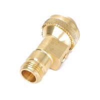 Brass ChemSaver Diaphragm Check Valve, 7 PSI