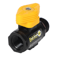 "3/8"" Female NPT X 1/2"" Male NPT Micro valve Locking Handle"