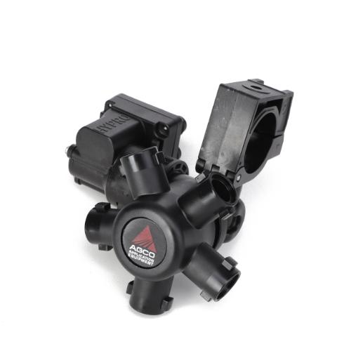 5-Way ProFlo Rotary Nozzle Body with 12V DC ProStop-E, LH