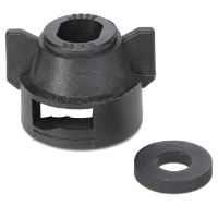 Quick TeeJet Cap, Black for Oval