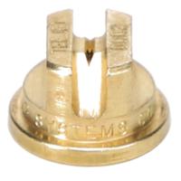 Standard Flat Fan Spray Tip, Brass, Size 02, 80⁰