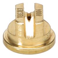Standard Flat Fan Spray Tip, Brass, Size 04, 80⁰