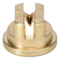 Standard Flat Fan Spray Tip, Brass, Size 08, 80⁰