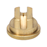 Standard Flat Fan Spray Tip, Brass, Size 5.0, 65⁰