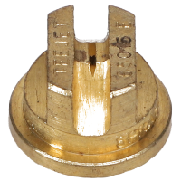 Standard Even Flat Fan Spray Tip, Brass, Size 1.5, 65⁰