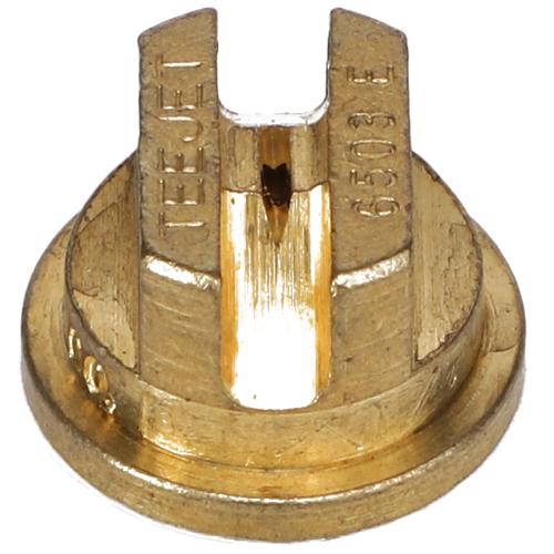 Standard Even Flat Fan Spray Tip, Brass, Size 03, 65⁰