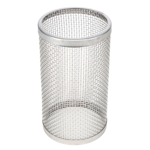 "8 Mesh Screen, 3"" 304 Stainless Steel Strainer"