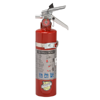 Fire Extinguisher, 2-1/2 lb, USA Only