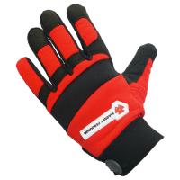 Massey Branded Mechanics Gloves, Size Medium
