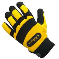 Challenger Branded Mechanics Gloves, Size Medium